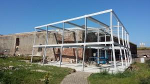 Staalconstructie Fort Kijkduin